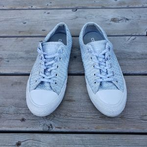 Converse grey knit sneakers